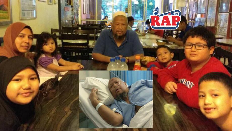 Bob Lokman dirawat di hospital sejak malam tadi.