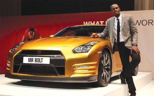 BOLT bersama Nissan MY15 GTR.