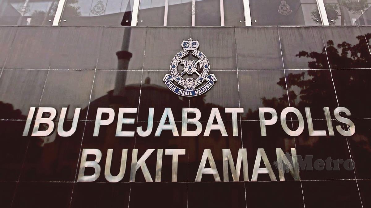 POLIS Diraja Malaysia (PDRM). FOTO arkib NSTP