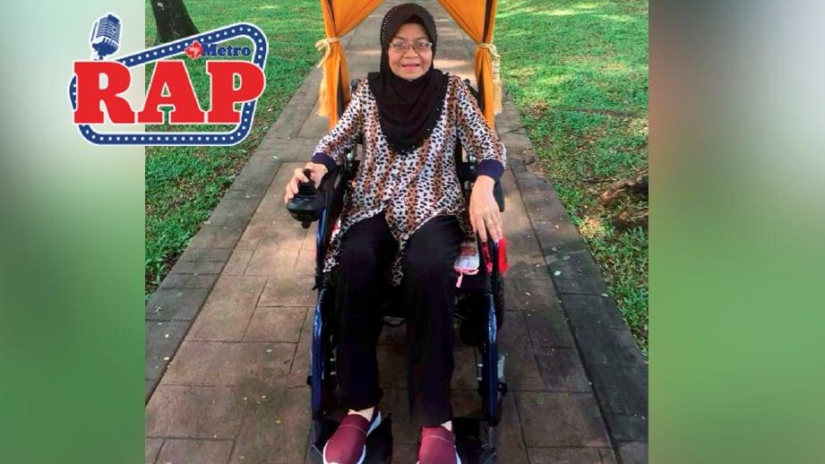 Mak cik petir kembali selepas berehat panjang akibat komplikasi diabetes tahun lalu. FOTO OMAR AHMAD