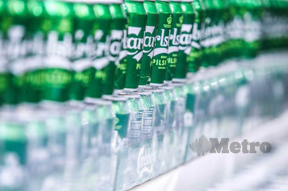 JKDM nafi laporan pembatalan notis tuntutan cukai jualan dan penalti syarikat Carlsberg Malaysia.FOTO Azhar Ramli