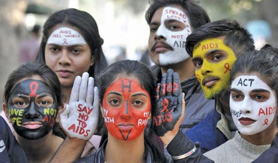 KESEDARAN ancaman HIV dipertingkatkan melalui kempen.