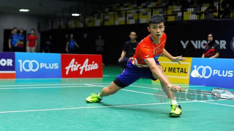 Chong Kin mahu raih lebih banyak kejayaan. FOTO NSTP