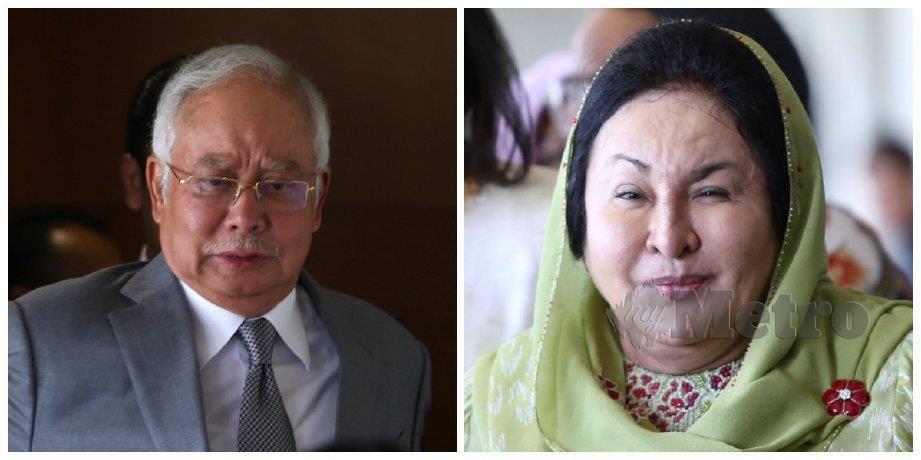 Najib dan Rosmah. FOTO Arkib NSTP