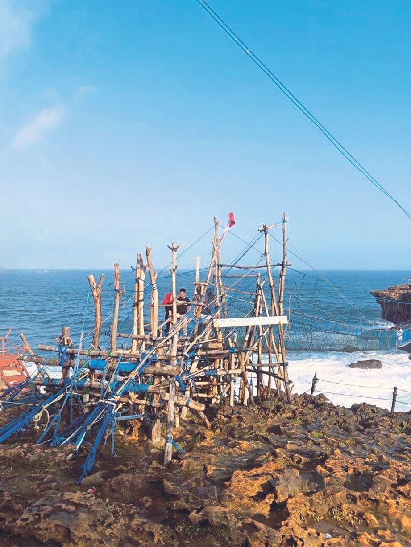 KEUNIKAN Pantai Timang. FOTO NSTP