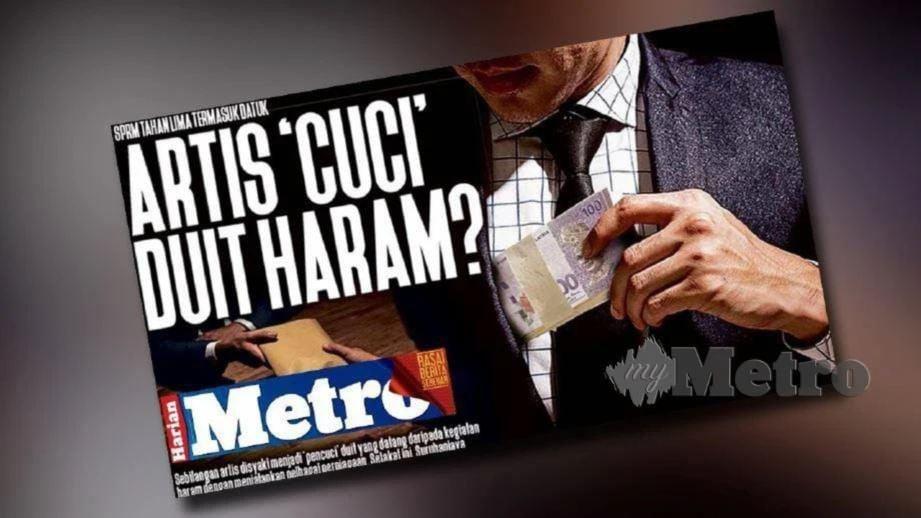 LAPORAN Harian Metro sebelum ini.