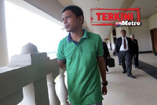 Shahrul Anuar dijel empat bulan dan denda RM1,000. FOTO Ghazali Kori
