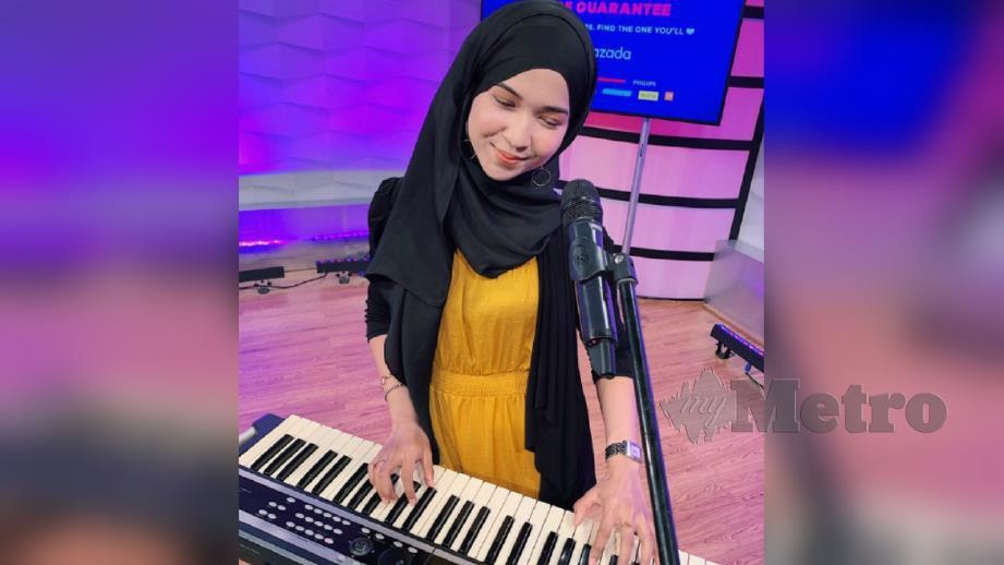 DARLEEN Nur Adila turut diundang mengadakan persembahan bermain piano. FOTO Ihsan Darleen Nur Adila Zakir