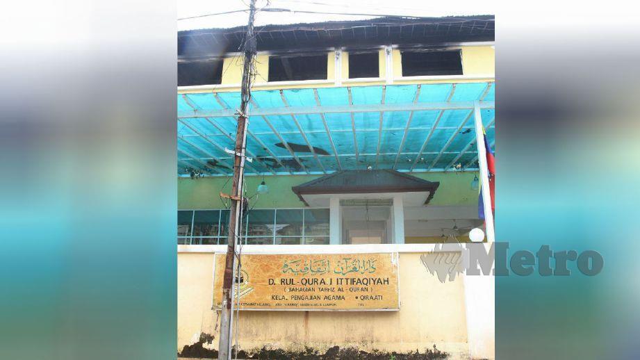 PUSAT Tahfiz Darul Quran Ittifaqiyah, Kampung Datuk Keramat yang terbiar dan masih belum dibenarkan beroperasi berikutan masih di dalam kes di mahkamah. FOTO Mustaffa Kamal
