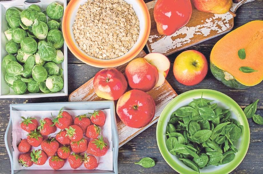PILIH makanan seimbang mengandungi nutrisi diperlukan.