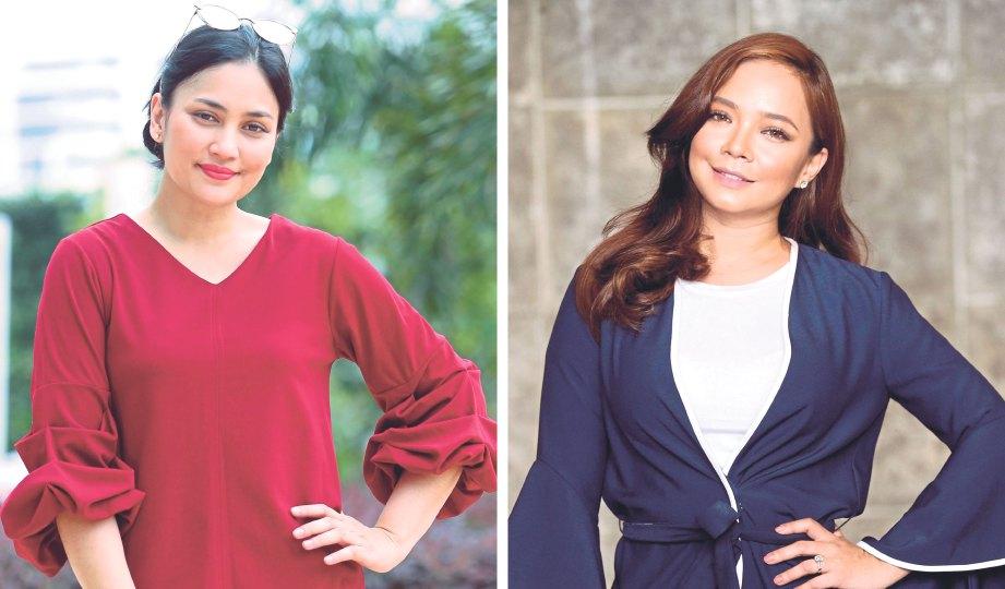 Mengulangi sejarah dua diva   Harian Metro  Fasha Sandha Dan Nora Danish
