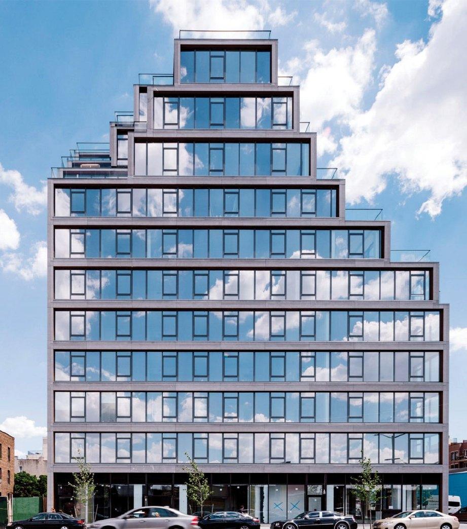 251 1st Street perkenal konsep balkoni 'terbuka'.