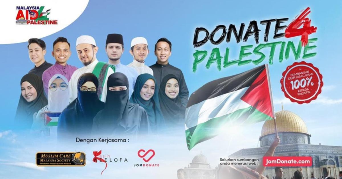 Kutip RM2 juta dalam kempen Donate 4 Palestine