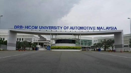 Kolej Antarabangsa Automotif (ICAM) di Pekan, Pahang, kini menjadi DRB-HICOM University of Automotive Malaysia (DHU)
