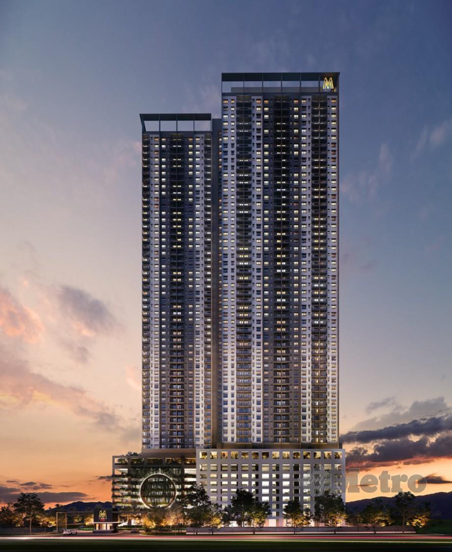 PROJEK Mah Sing Group, M Luna yang akan dibina di Taman Wahyu Kuala Lumpur.