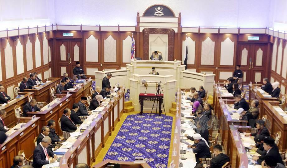 PERSIDANGAN Dewan Undangan Negeri (DUN) Pahang bermula 13 April ini ditangguhkan. FOTO Arkib NSTP