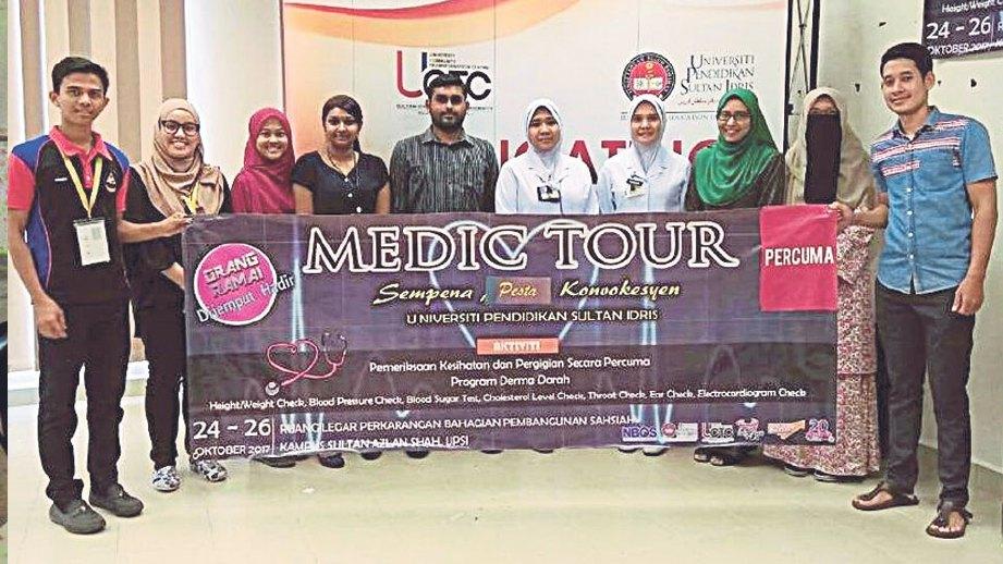 DUTA UPSI juga terbabit dengan program Kesihatan Medic Tour.