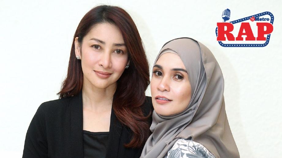 Rita (kiri) tidak mahu campurtangan terhadap apa berlaku terhadap Izreen dan Intan. FOTO NURUL SYAZANA ROSE RAZMAN