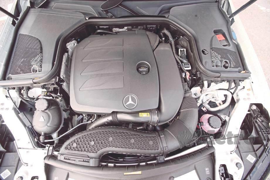ENJIN 2.0 liter pengecas turbo. FOTO Nurul Shafina Jemenon