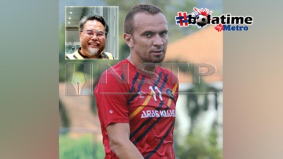 Mohammed Suffian mahu skuad Pahang elak layangan kad selepas Eduardo dikenakan kad kuning pada aksi menentang PKNP FC. FOTO NSTP
