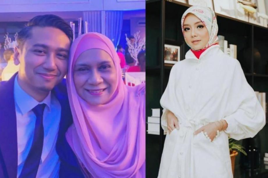 BAKAL suami Mira Filzah, Wan Emir Astar (kiri).