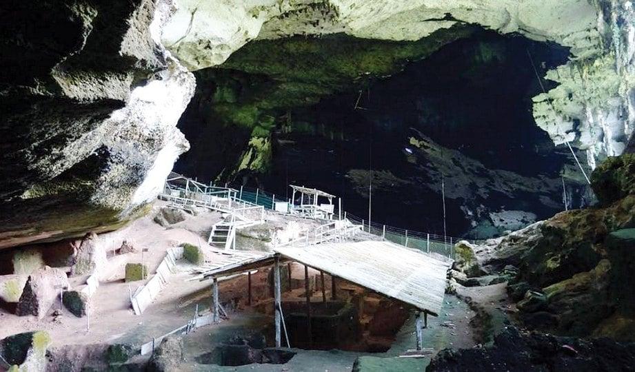 KAWASAN gua juga antara lokasi tapak arkeologi di Malaysia.