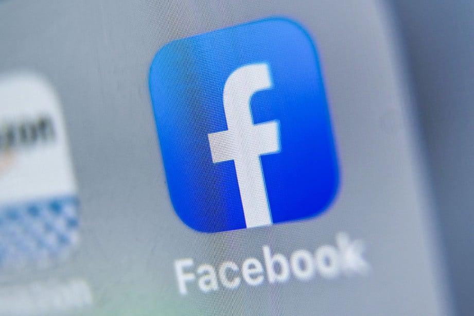MULAI 1 Januari 2020 Facebook mengenakan SST terhadap pengiklanan. FOTO AFP