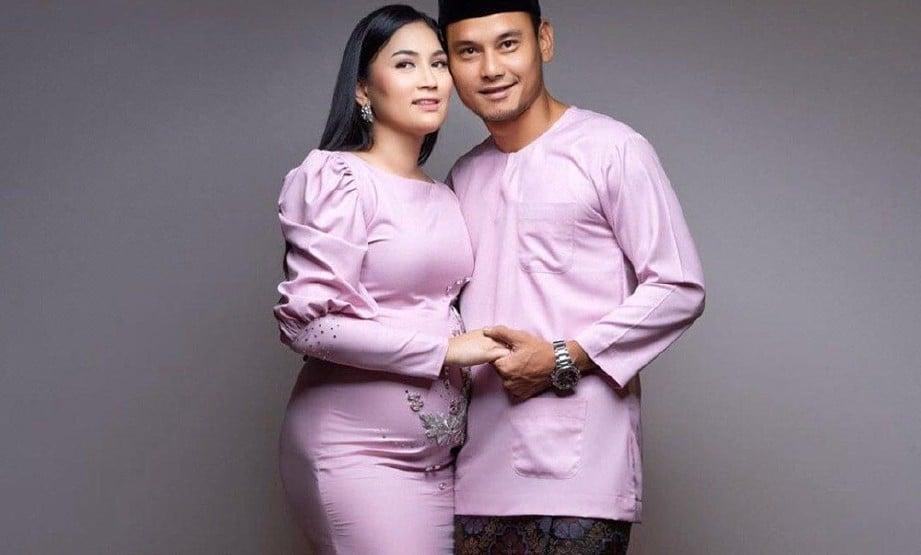 FASHA bersama Aidil berkongsi berita kehamilan. FOTO IG FASHA SANDHA