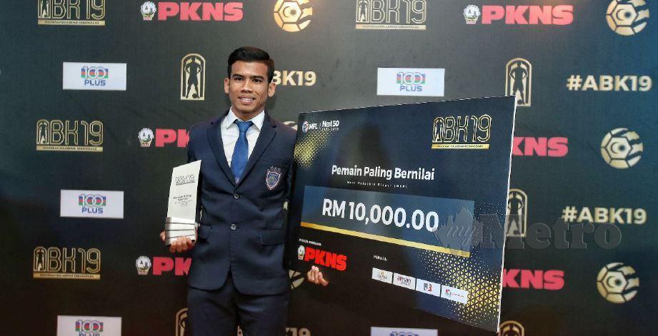 SAFAWI muncul penjaring terbanyak Harimau Malaya dengan enam gol.