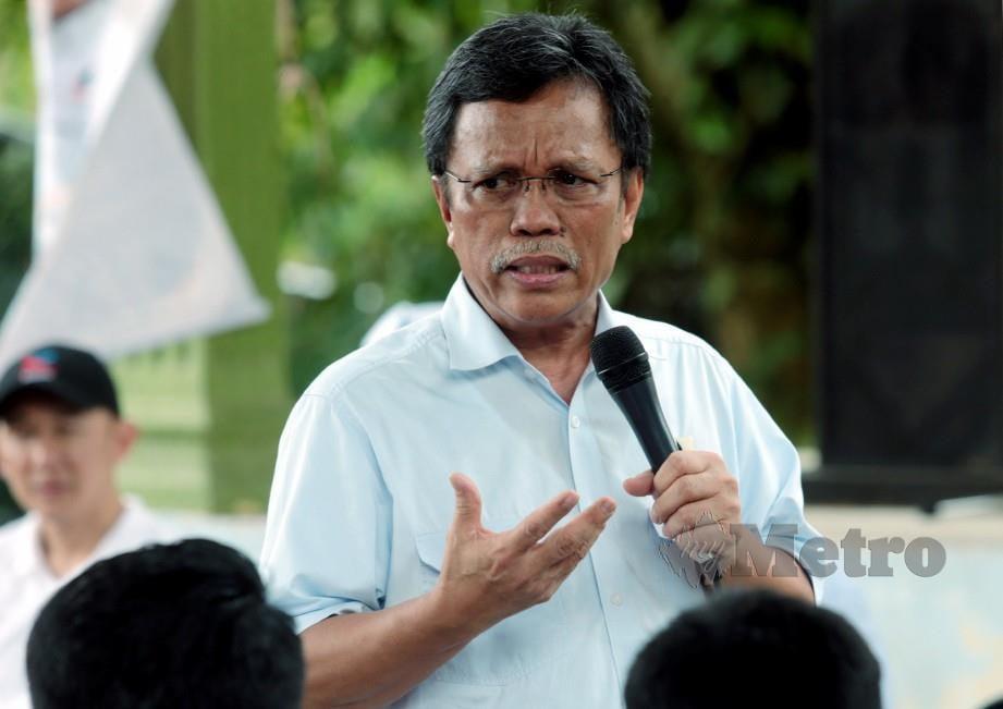 SHAFIE yakin kemasukan ahli UMNO ke Warisan adalah satu petanda baik. FOTO EDMUND SAMUNTING.