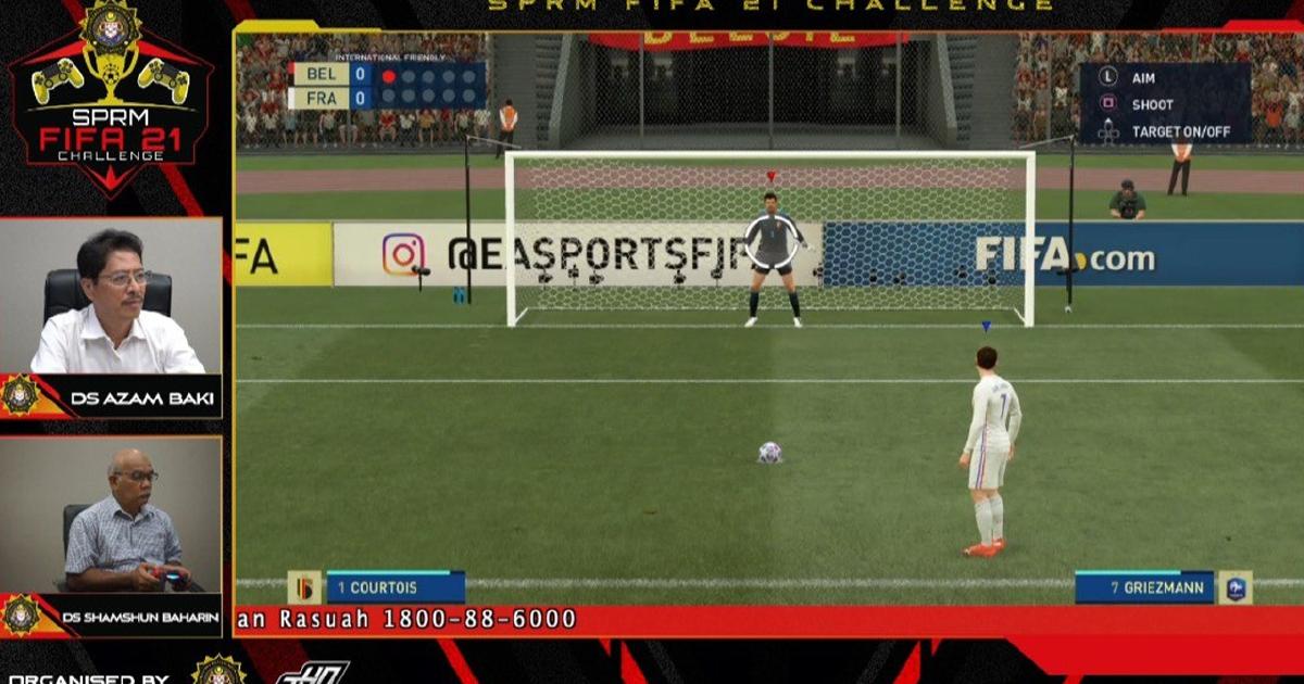 Saingan SPRM FIFA 21 Challenge sebar mesej antirasuah