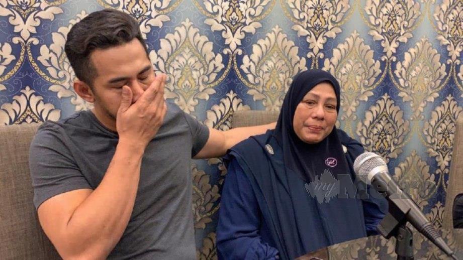 FIZO tidak teragak-agak untuk mengambil tindakan sekiranya masih terdapat komen keterlaluan yang mengaitkan keluarganya. FOTO: Sudirman Mohd Tahir