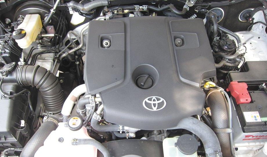 ENJIN 2.4L DOHC Intercooler VNT Diesel tawar 400Nm tork.