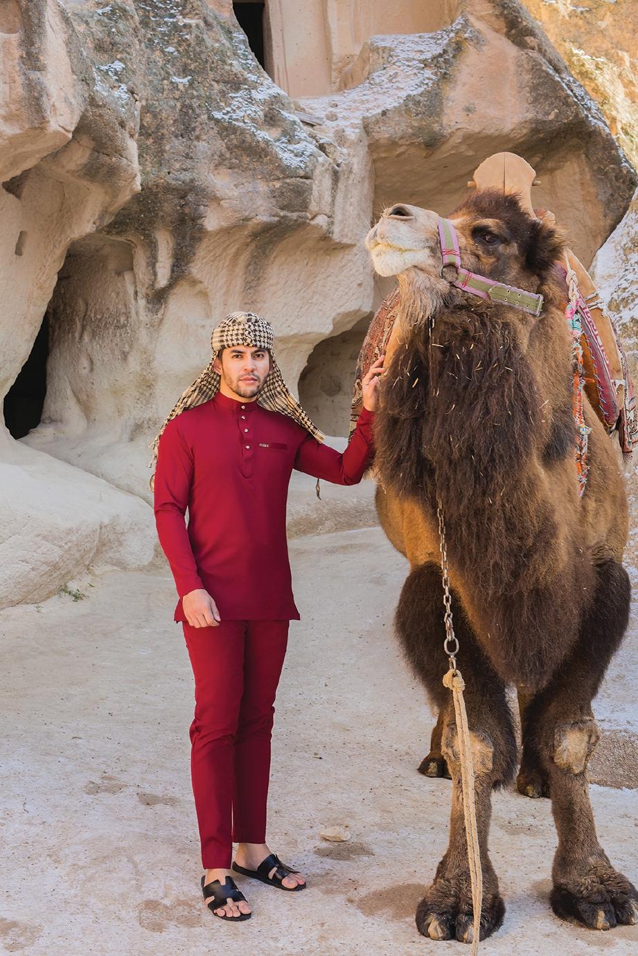 PENGGAMBARAN dibuat di Turki. FOTO Ihsan Mohd Fekri Ahmad