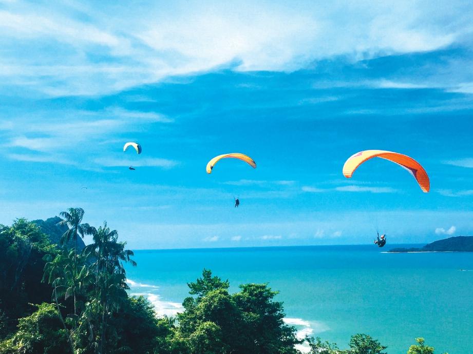 PEMANDANGAN indah dari udara. FOTO Ihsan Asnawi Mohd Hassan