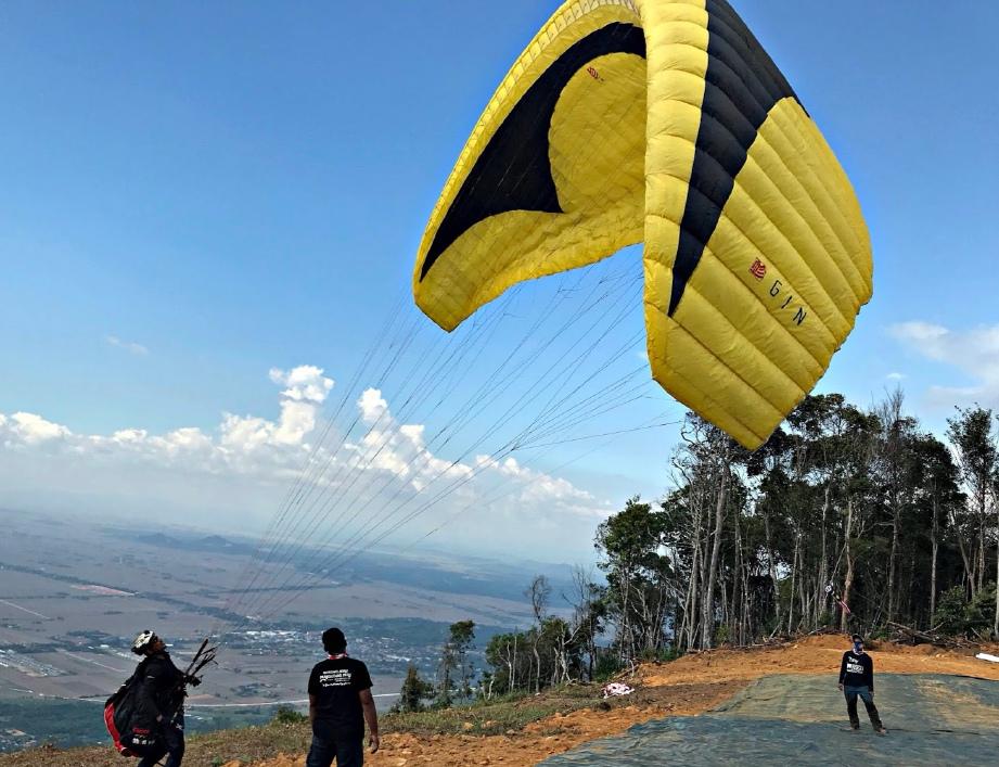GUNUNG Jerai, Kedah menyajikan panorama menarik.
