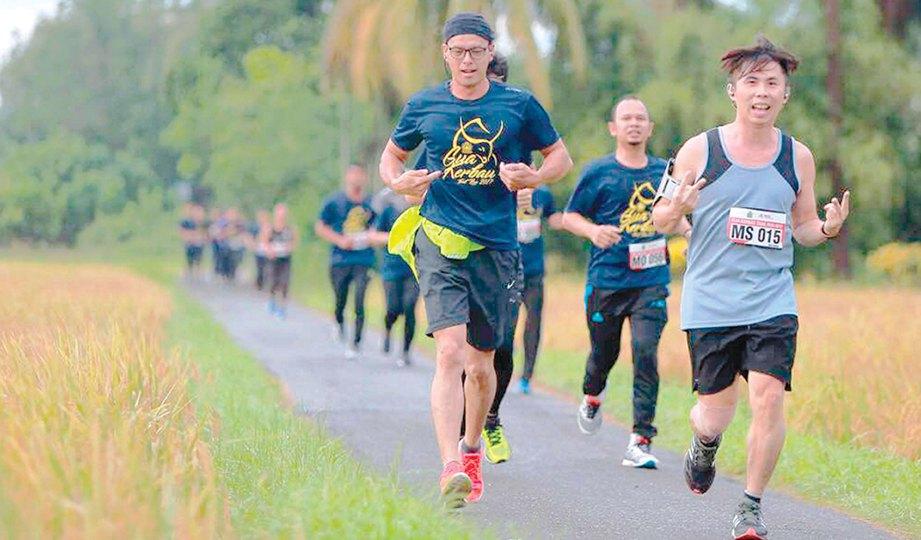 GUA Kerbau Trail Run mendapat sambutan pelbagai bangsa.