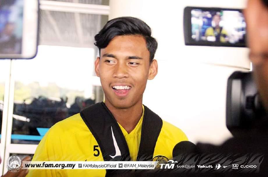 HARITH Haikal terpilih barisi skuad Selangor. FOTO FB FAM