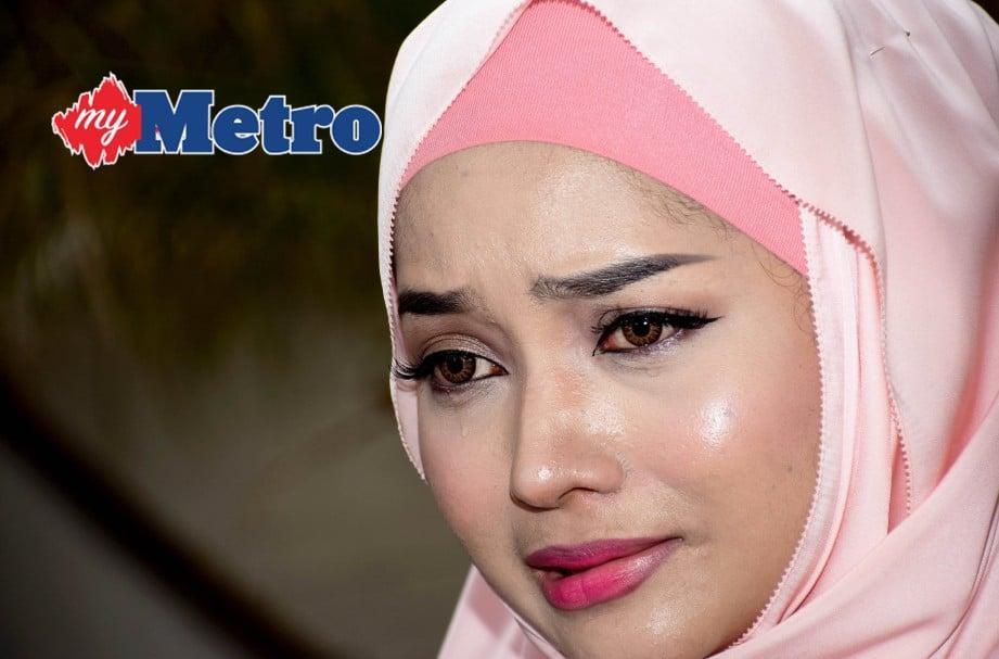 Joy Revfa tidak mahu cerita lain timbul. FOTO HM/MOHD ASRI SAIFUDDIN MAMAT
