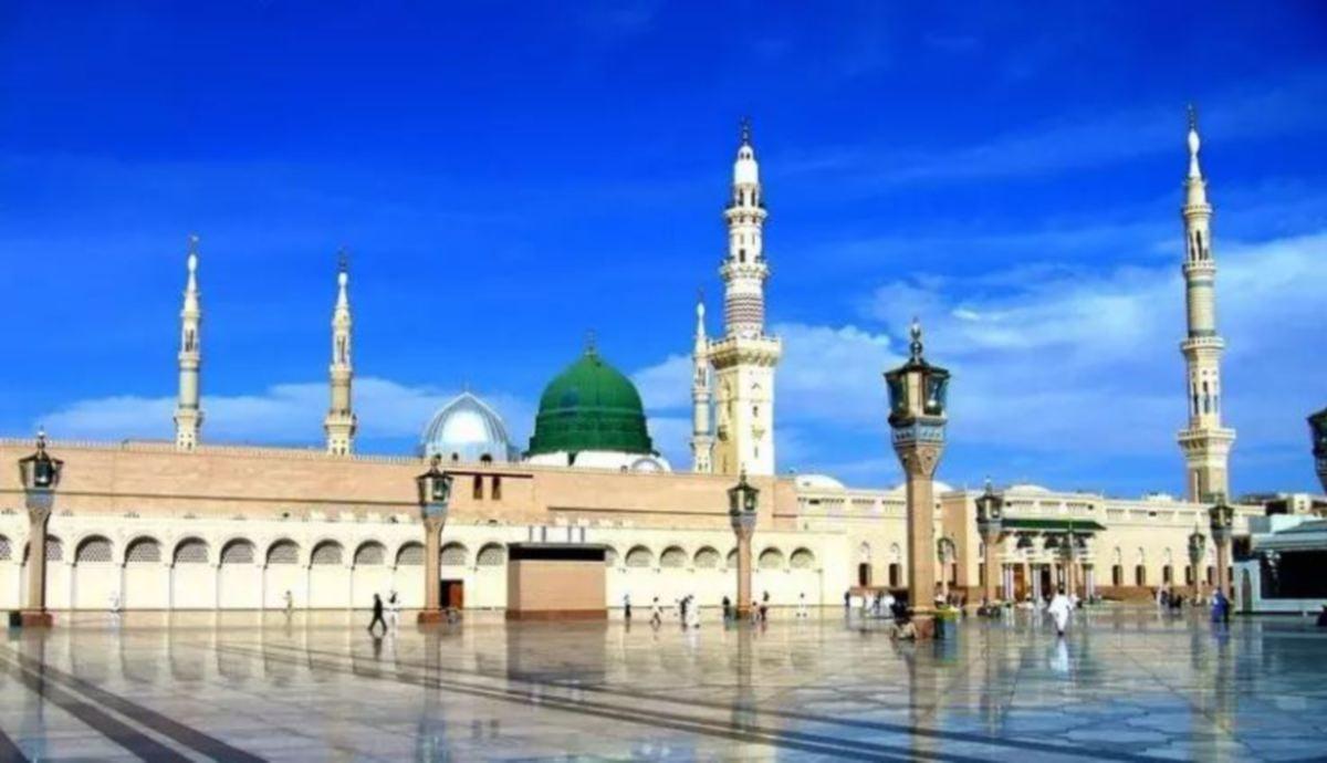 MASJID Nabawi. FOTO Islamiclandmarks.com