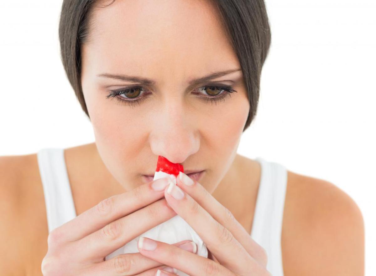 KANAK-KANAK dan orang dewasa boleh alami hidung berdarah.