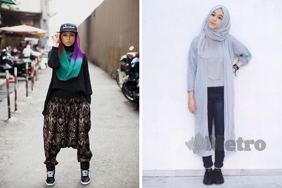 PENAMPILAN Muslimah kini boleh digayakan mengikut fesyen menarik.