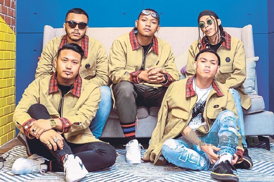 KUMPULAN K-Clique dari Sabah harap dapat cipta legasi sendiri.