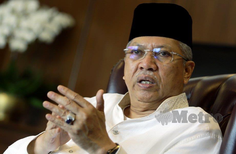 TAN Sri Annuar Musa. FOTO Mohd Fadli Hamzah.