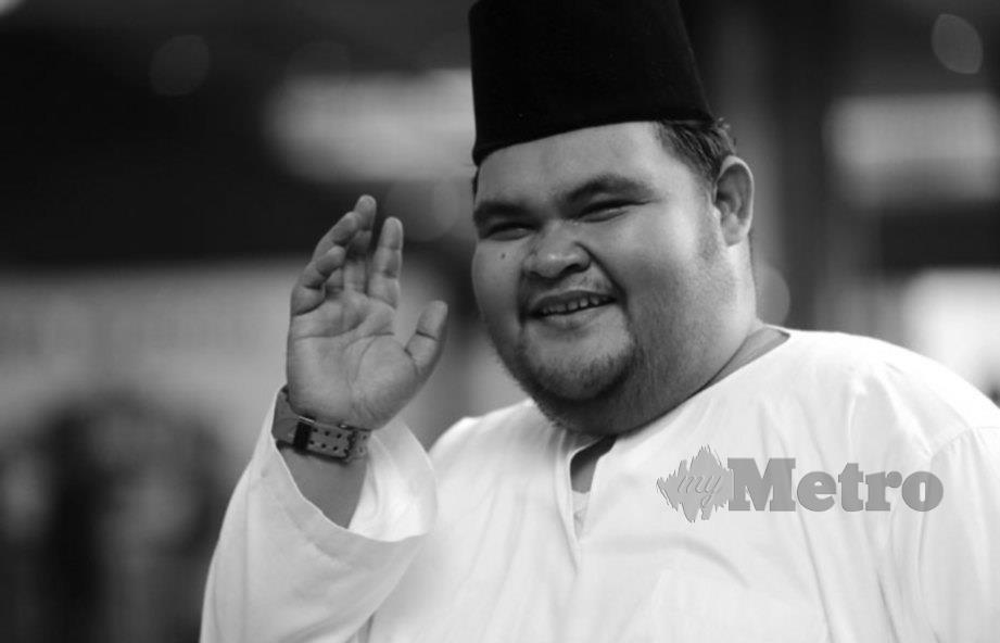 ALLAHYARHAM Abam Bocey. FOTO Nurul Syazana Rose Razman.