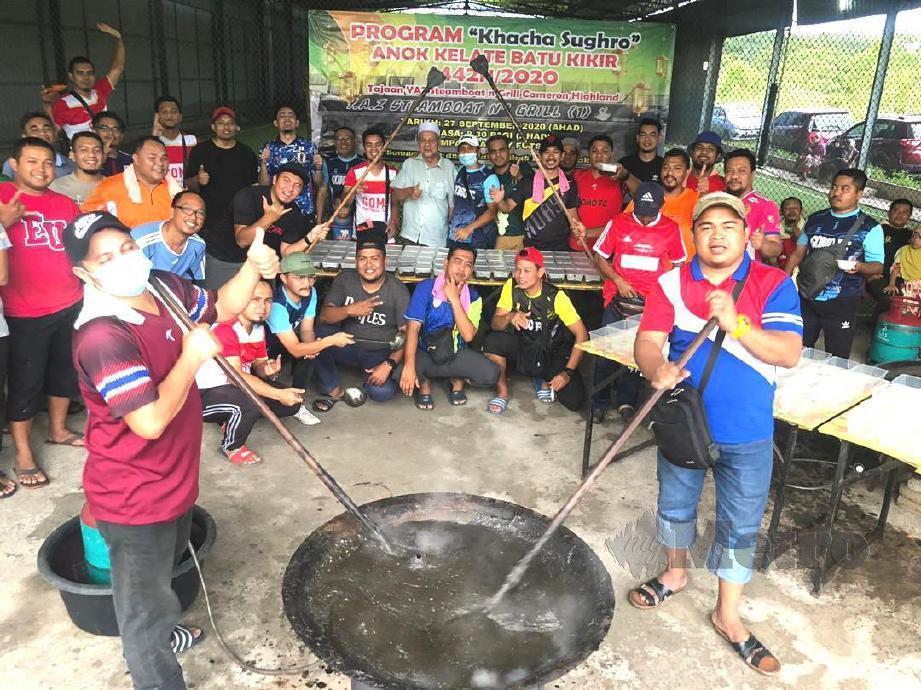 BIARPUN sudah lama menetap di negeri ini, lebih 100 anak Kelantan sepakat menganjurkan program Khacha Sughro di Batu Kikir di sini. FOTO Abnor Hamizam Manap