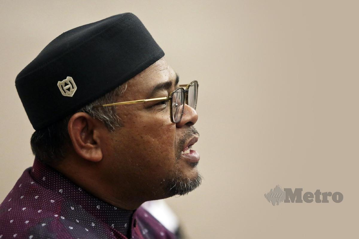 MENTERI Perusahaan Perladangan dan Komoditi, Datuk Dr Mohd Khairuddin Aman Razali. FOTO GHAZALI KORI.