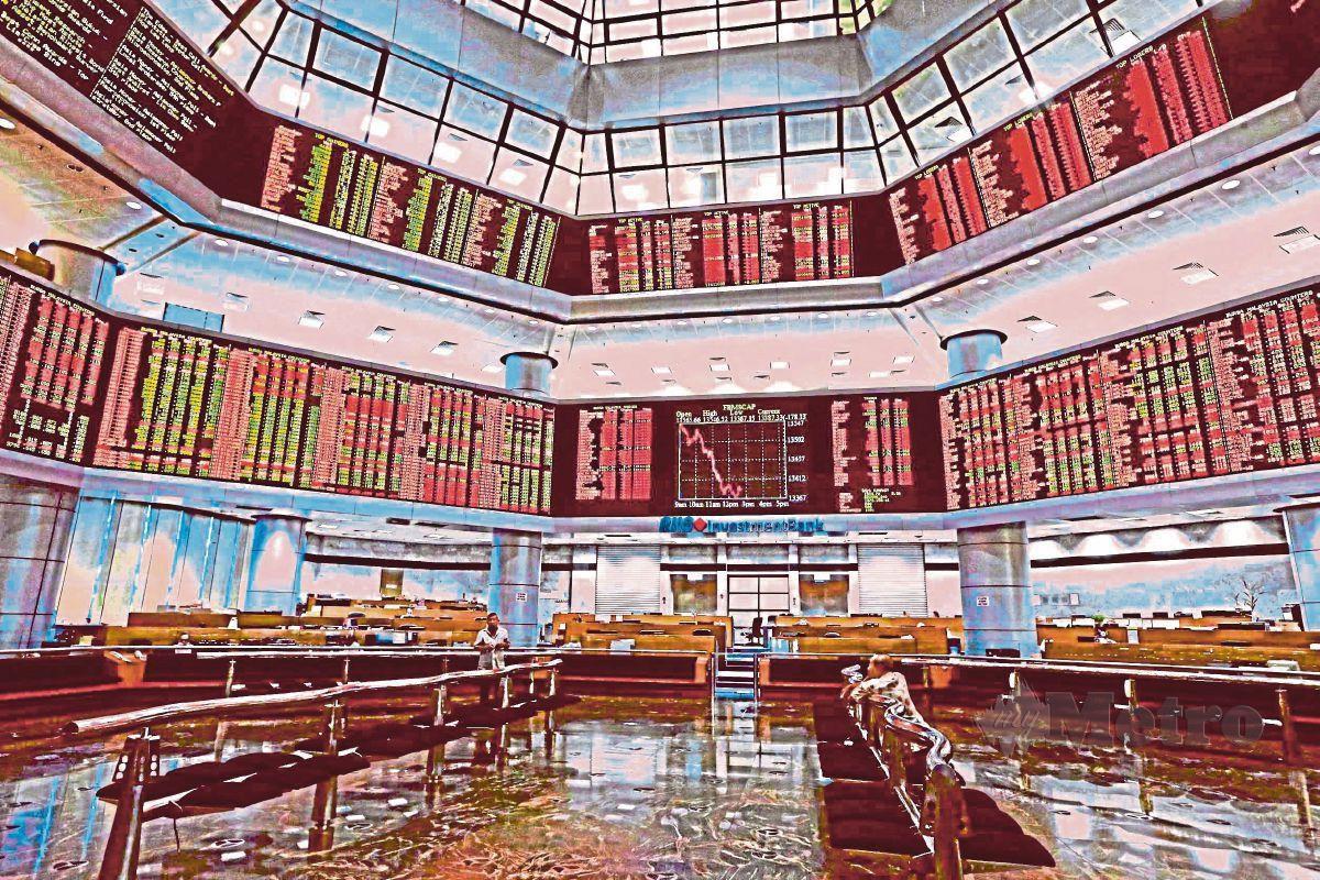 PASARAN saham Bursa Malaysia. FOTO arkib NSTP