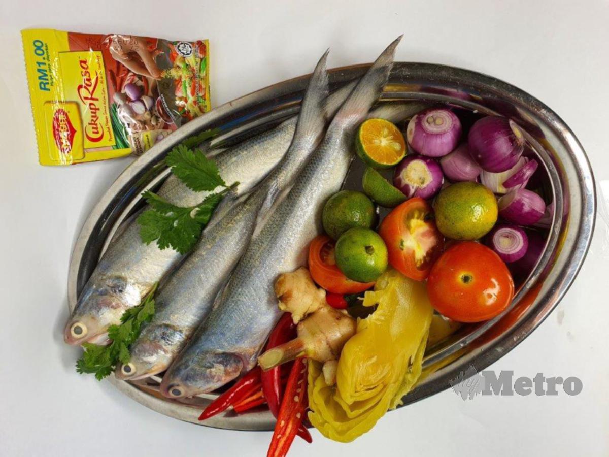 HIDANGAN Umai Ikan Senangin.