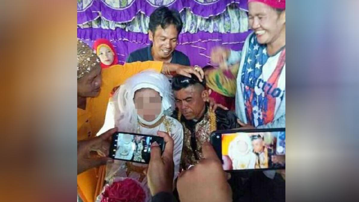 REMAJA berusia 13 tahun dipaksa kahwin dengan Abdulrzak. FOTO agensi